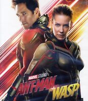 Ant-Man 2 and the Wasp 2018 PG-13 superhero movie, new DVD, Paul Rudd, E. Lilly