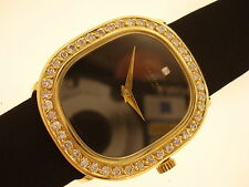 Top orologio Sarcar 750 GOLD 43 diamanti circa 1,00 CT MONTRE or ORO WATCH LADY