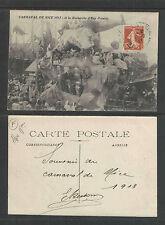 1913 CARNAVAL DE NICE FRANCE A la RECKERCHE d'EAU POTABLE POSTCARD