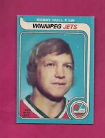 1979-80 OPC # 185 JETS BOBBY HULL EX-MT CARD (INV# A4345)
