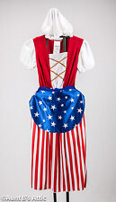 Betsy Ross Patriotic 3 Piece Children's Dress Historical Book Report Costume