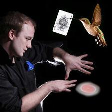 Close Up Magic Stage Street Trick Hummingbird Floating Card UFO Card+Video