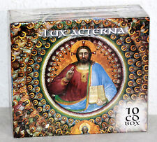 10 CD-Box LUX AETERNA - Geistliche Chöre - Religious Choirs (OVP)