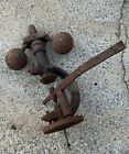 Antique+Steam+Engine+Governor+Fly+Ball+Hit+%26+Miss+Early+Motor++Steam+Punk