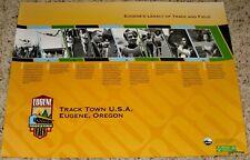U.S OLYMPIC TRACK & FIELD TRIALS 2008 POSTER OREGON LEGACY PREFONTAINE BOWERMAN