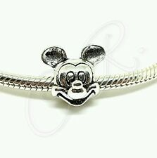 "Damen Charm ""Micky Mouse"" Maus, Wunderhaus, Anhänger aus 925er Silber Sterling"