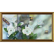 Nova Sloboda  HK3134  Inspiration  Mélange floral  Broderie Perlée