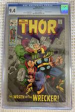 1969 Marvel Thor #171 CGC 9.4 Wrecker Appearance
