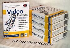 NCH Software Video Essentials Suite Win Mac 3D HD New Sealed Windows 10 ready