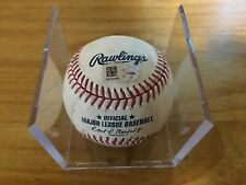 Cole Hamels Game Used Ball Career Strikeout #2527 MLB Authenticated Bumgarner