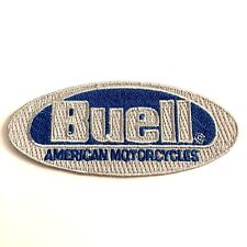"Buell American Motorcycles Embroidered Patch 5-3/8""x 2-3/8"" NEW Oval (1) Biker"