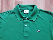 LACOSTE GREEN  Men's Polo Shirt Size 4