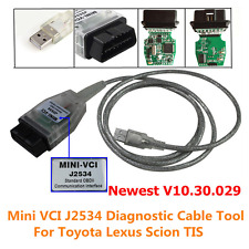 Mini VCI Diagnostic Tool Cable Scanner for Toyota Lexus TIS Techstream V10.30.29