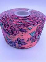 Flowers Grosgrain Ribbon 75mm Width Buy 3 get 4th Free