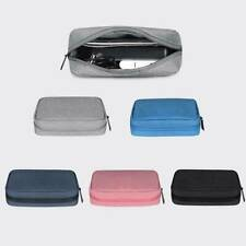 Travel Electronic Accessories Organizer Cable USB Charger Storage Tidy Bag KV