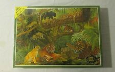BIG CATS Jungle 1000 Piece James Hamilton Deluxe Puzzle Gold Series