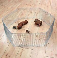 Trixie 6249 Freilaufgehege für Kleintiere 6 Elemente ø 90 × 25 cm