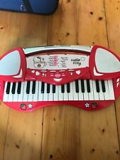 Hello Kitty Toy Piano Children's Keyboard with Microphone Kids piano