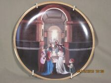 """Precious Moments Bible Story Collectible Plates """"Esther's gift to her people"""""""