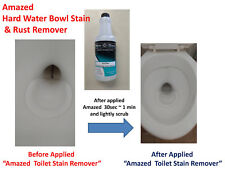 Amazed Hard Water Toilet Bowl Stain Rust Removal RING OUT Cleaner - qt