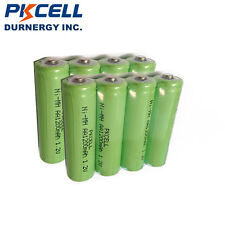 8pcs PKCELL Double A 2A Rechargeable Batteries AA 1.2V 1200mAh NIMH