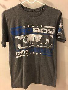 Chris Weidman UFC Gray Bad Boy Shirt Size Medium