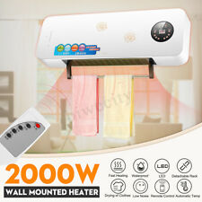 2KW 220V Wall-Mounted Split System Air Conditioner Heater PTC Ceramic Heating
