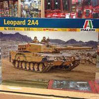 Kit maqueta Leopard 2A4 1:35 Italeri Ref. 6559 Calcas españolas