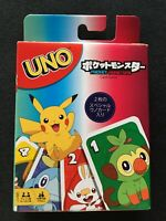 Pokemon UNO Card Game Special rules With Snorlax & Greninja Pikachu GNH17