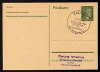 █ Ganzsache KALISCH Cachet Spécial 13/08/43 WW2 Entier
