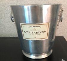 More details for moet chandon champagne cooler white label vintage 1970s used  no 2 vine handles