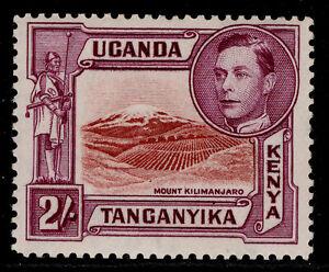 KENYA UGANDA TANGANYIKA GVI SG146a, 2s lake-black/brown-purple LH MINT. Cat £80.