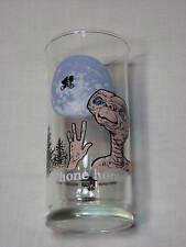 ET Phone Home E T Extraterrestrial Vintage Old Glass Moon 1982 Pizza Hut Elliott