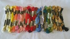 DMC embroidery floss lot 41 Flower assorted Colors Thread lot cross stitch kit