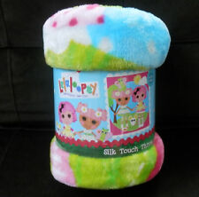 Lalaloopsy Silk Touch Throw with Crumbs Sugar Cookie &  Blossom Flowerpot
