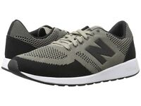 Men Athletic Sneakers New Balance Shoes Classic Mesh Upper Taupe Black MRL420TA