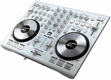 NEW EPSILON PRO-MIX2 MIDI USB DJ Controller Virtual DJ Software Soundcard White