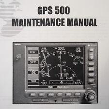 Garmin GPS 500 Maintenance Manual