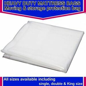 3ft Single,4'6 Double, OR 5ft King Bed Mattress Bag Cover. Protector