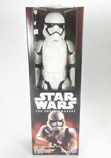 "Star Wars First Order STORMTROOPER 12"" Action Figure Force Awakens New Unopened"