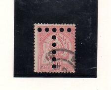 Túnez Valor de tasas del año 1888-98 (CY-619)