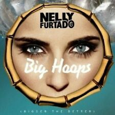 NELLY FURTADO - BIG HOOPS (BIGGER THE BETTER),2-TRACK  CD SINGLE NEU