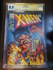 Uncanny X-Men #51 CGC 8.0 1968 signed Steranko