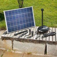 Solar Teichfilter Gr. XL-3 - Teich bis 10.000 L Solarpumpe Garten Pumpenset