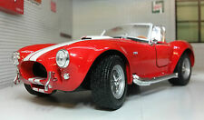 LGB 1:24 Scale 1965 Shelby AC Cobra Red 427 SC Detailed WELLY Diecast Model Car