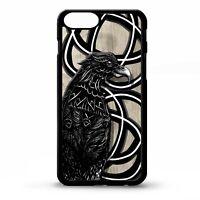 Odins Raven norse mythology Viking god Crow knot Odin pattern phone case cover