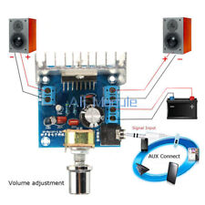 TDA7297 AC/DC 12V 2*15W Digital Estéreo Audio Amplificador De Dos Canales Amplificador Módulo K