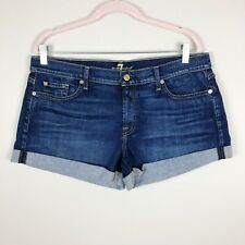 7 Seven for all Mankind 7FAM NEW Jeans Denim Shorts NWT sz 32