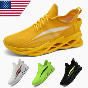Fashion Men's Casual Running Shoes Walking Athletic Sports Light Gym Sneakers US