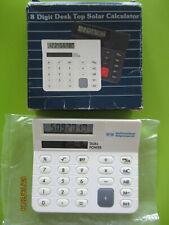 Taschenrechner - BWM-20063 - 8 Digit Desk Top Solar Calculator - Raiffeisenbank